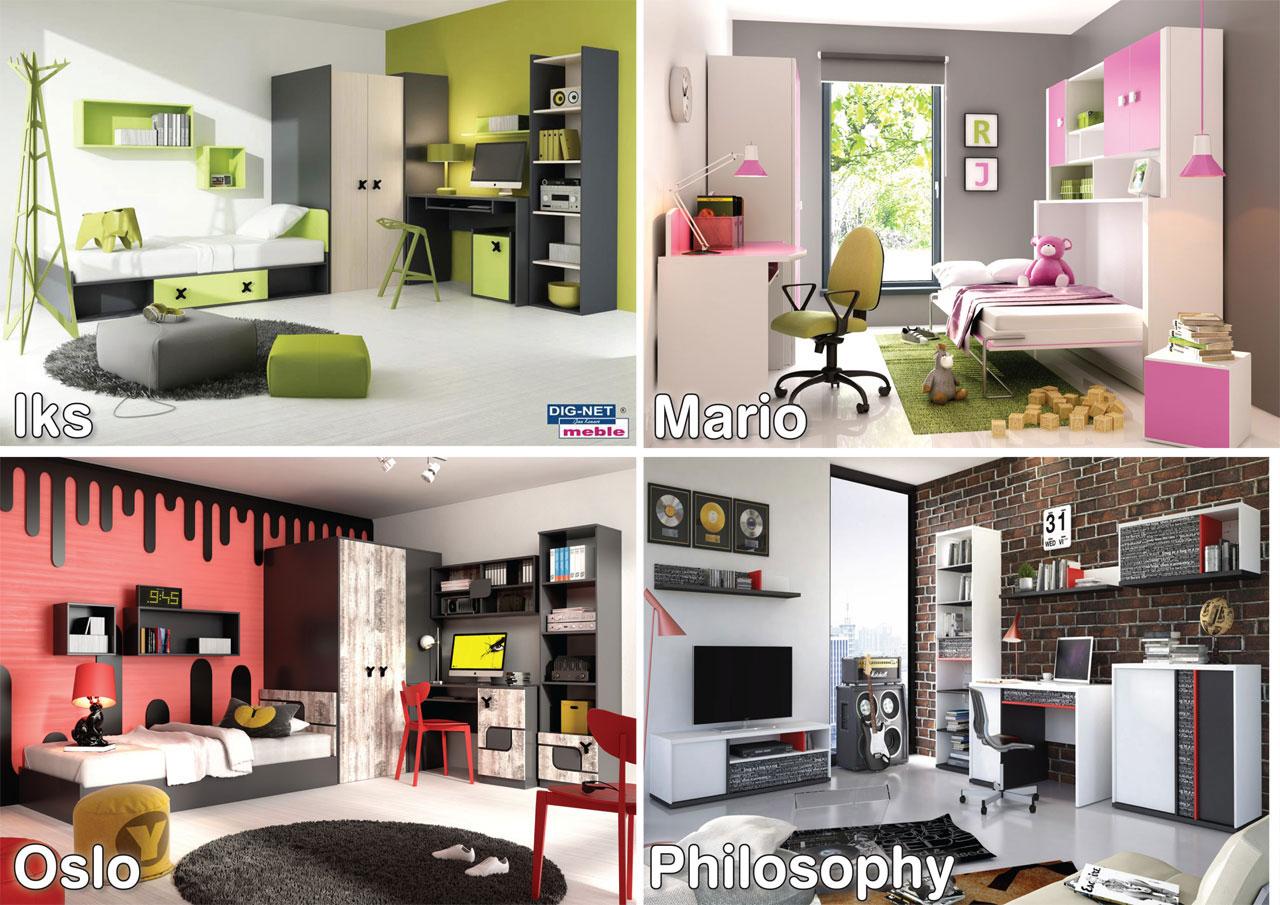 Meble Młodzieżowe Nowe Modele W Ofercie Euro Furniture